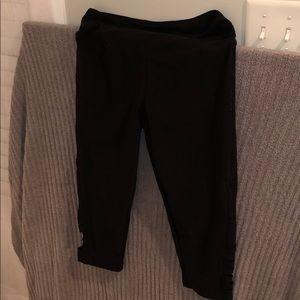 bally cropped leggings